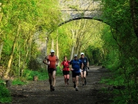 Runners Enjoying the Greenway