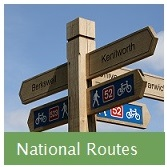 National Routes Button